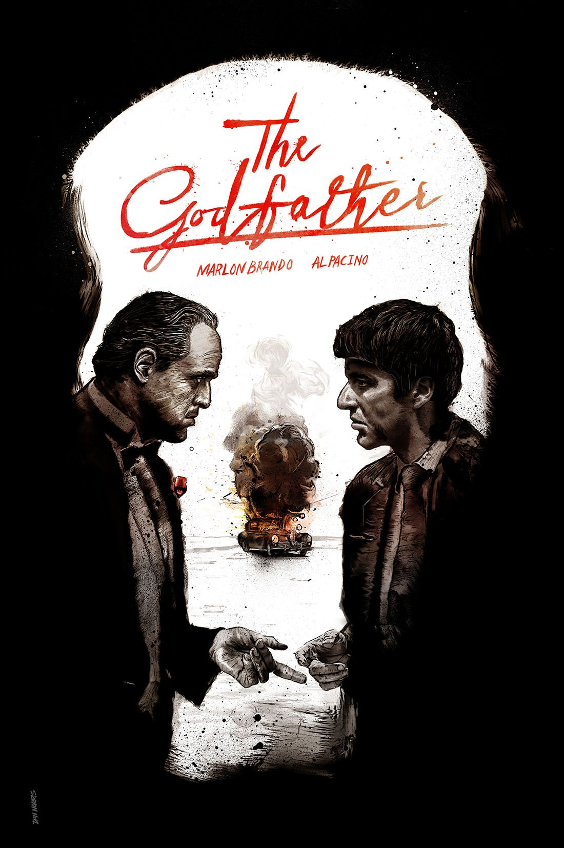 The godfather 1972 movie poster
