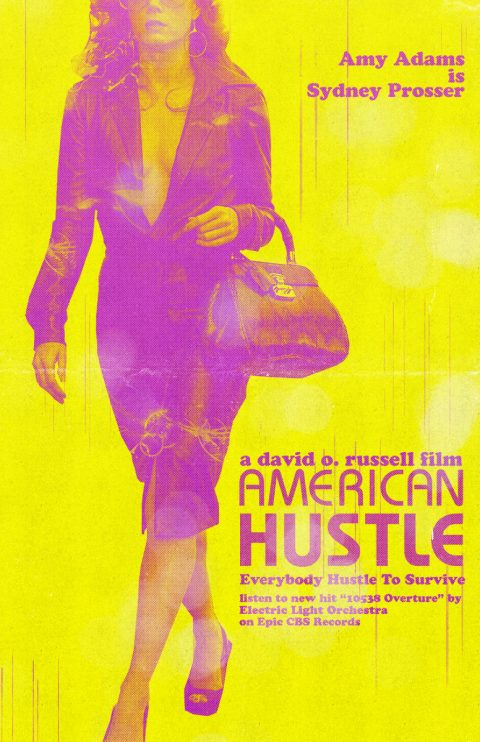 American Hustle – Custom Movie Poster 1/5