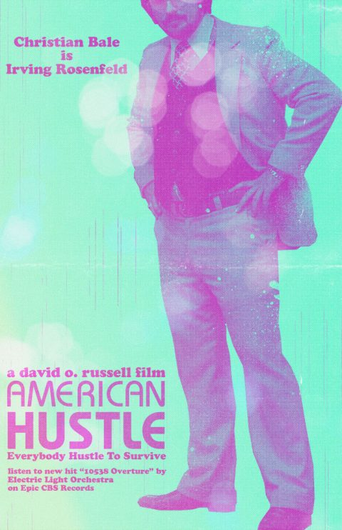 American Hustle – Custom Movie Poster 2/5