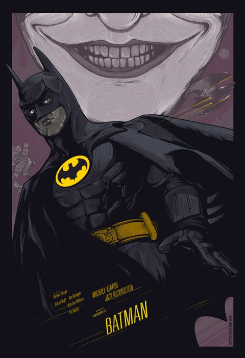 Batman (1989) 25th Anniversary Poster