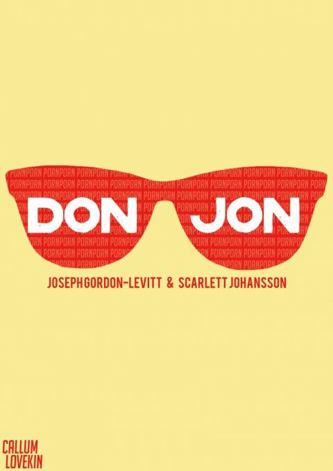 Simplistic Don Jon Poster