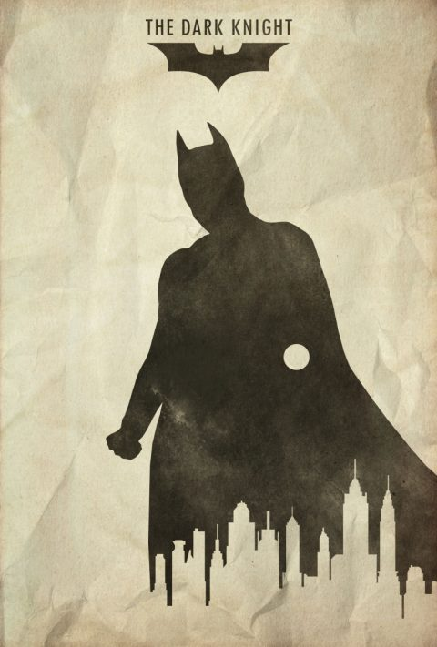 Hero – The Dark Knight Minimalist Poster