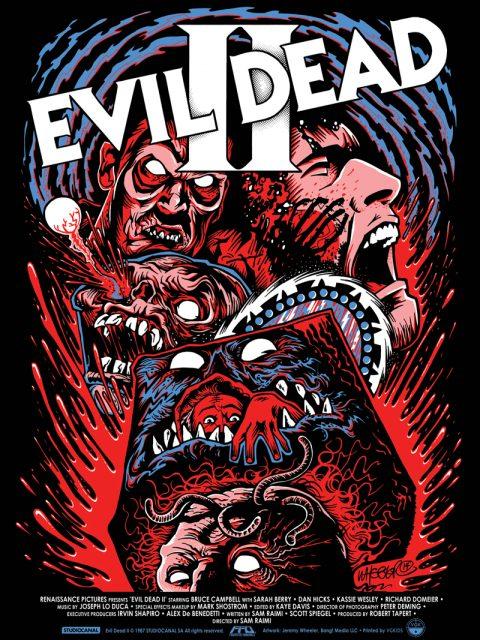 Evil Dead 2 FrightFest Originals Print