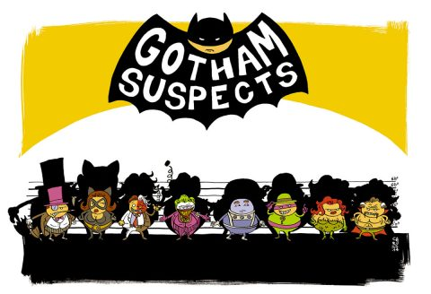 UNUSUAL SUSPECTS : Gotham
