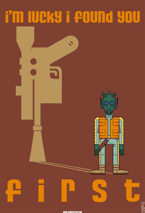 STAR WARS EPISODE IV : A NEW HOPE : Greedy Greedo