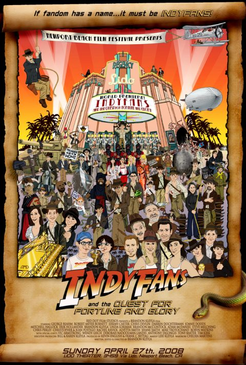 INDYFANS movie poster, Ver. 1 (Lido)