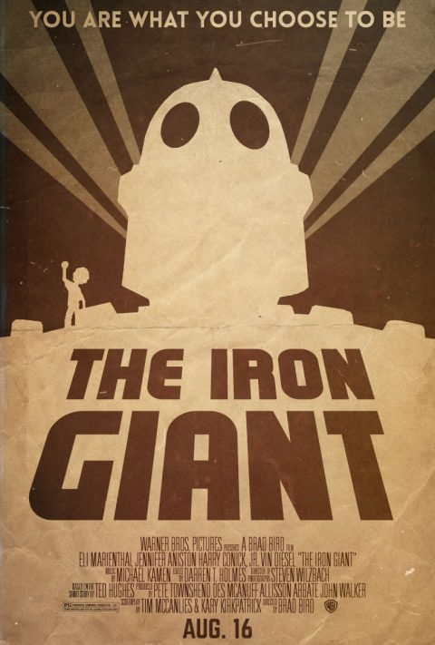 Choose Who You Are – The Iron Giant Alternative Poster