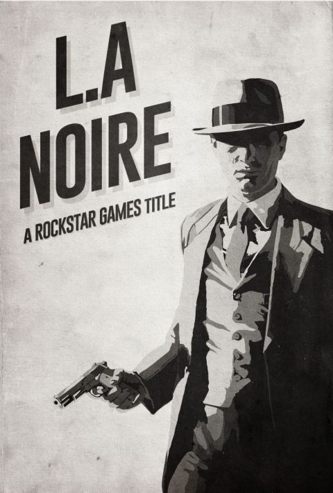 L.A Noire Alternative Poster