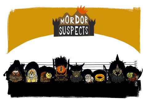 UNUSUAL SUSPECTS : Mordor