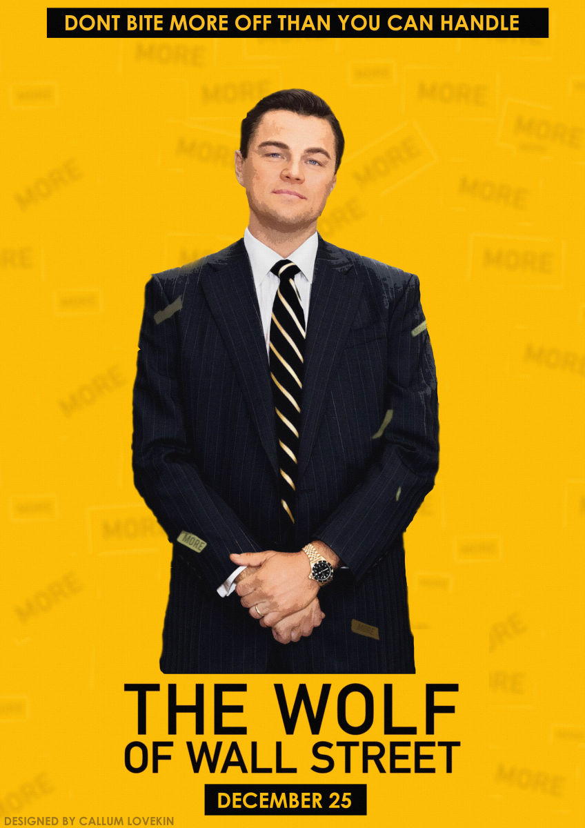 The Wolf Of Wall Street - PosterSpy