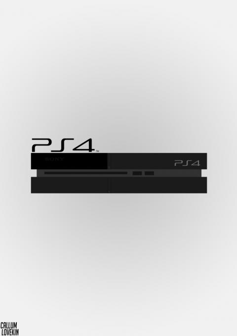 Simplistic PS4 Poster