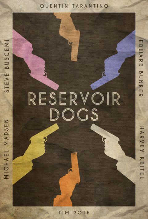 Stuck in the Middle – Reservoir Dogs Poster