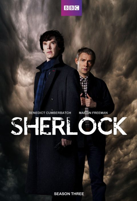 Sherlock series tv poster season 3