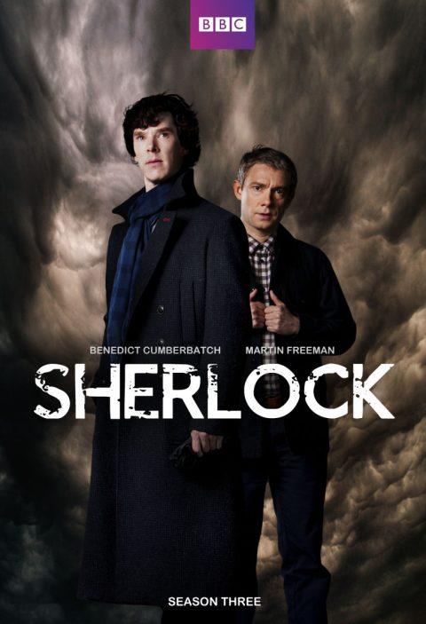 Sherlock series tv poster season 3
