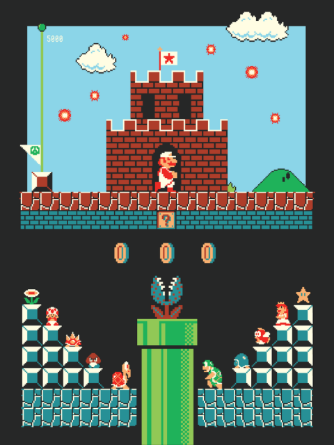 Super Mario Bros. Level One