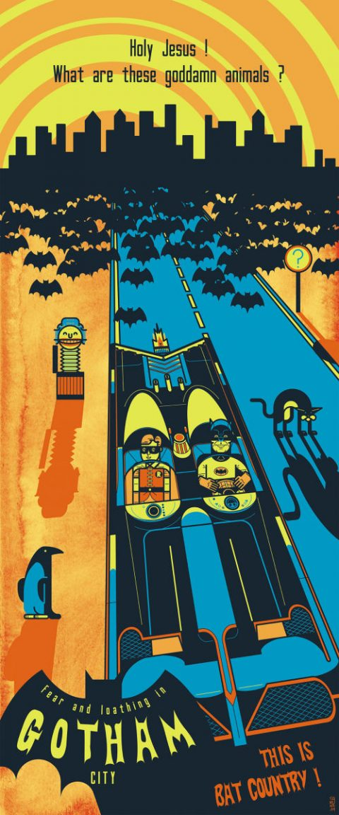 THIS IS BAT COUNTRY (Fear and loathing in Gotham City)