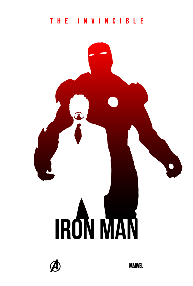 the invincible iron man posterspy