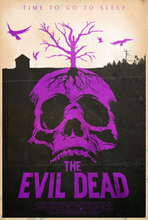 Go to Sleep – The Evil Dead Alternative Poster