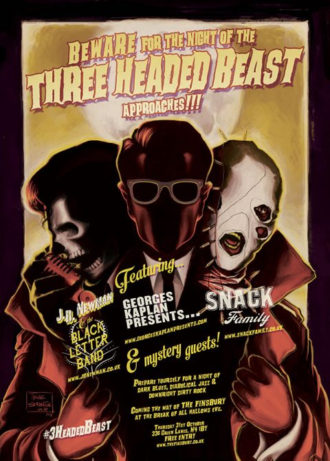 Night of the Three Headed Beast