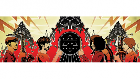 Sons of Kemet – UK Tour artwork