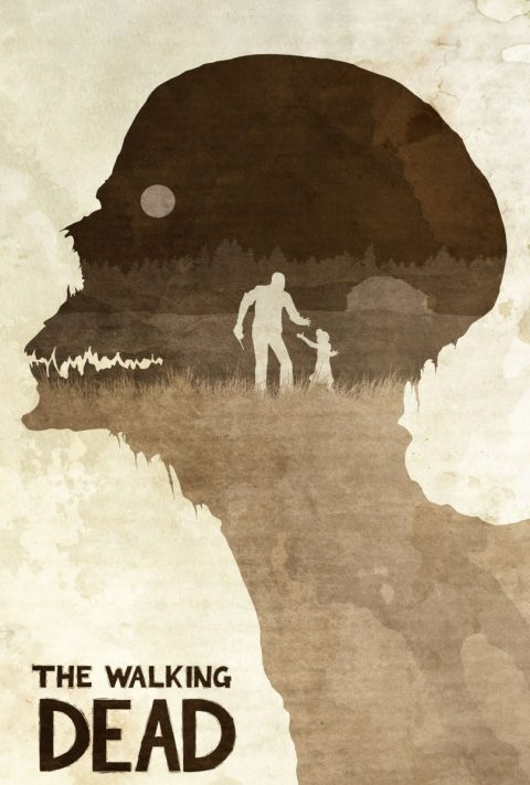 Don't Worry, Clementine – The Walking Dead Poster