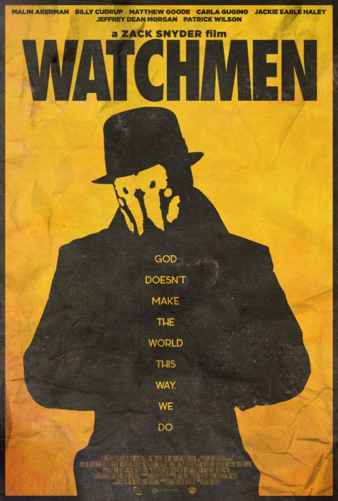 You Don't Seem to Understand – Watchmen Alternative Poster