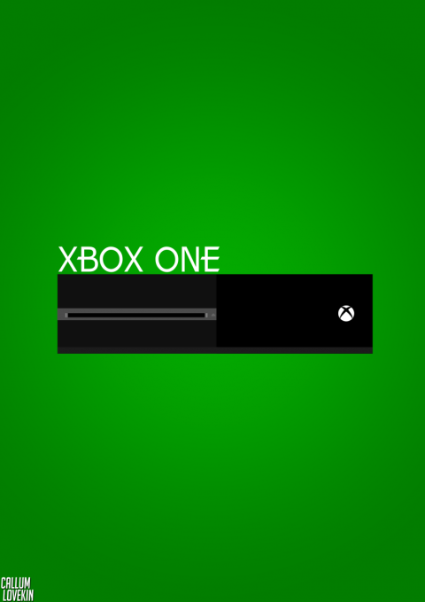Simplistic Xbox One Poster