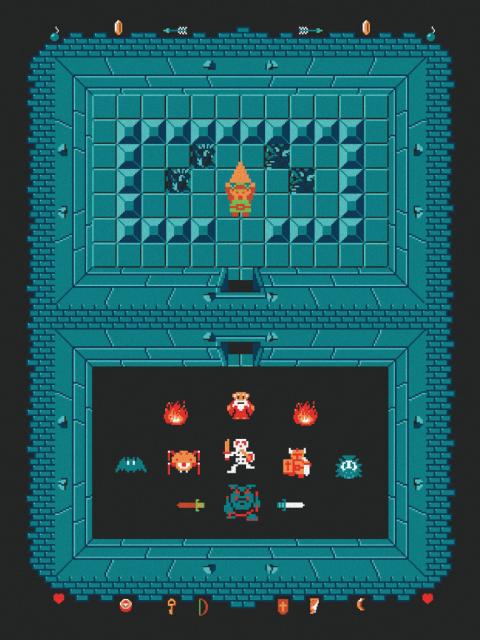 The Legend of Zelda Level One