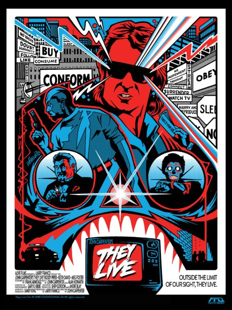 They Live Print for FrightFest Originals