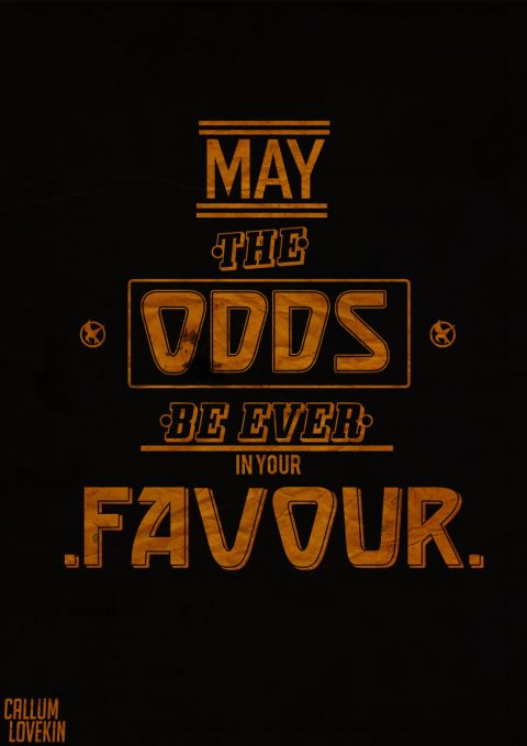 Hunger Games Typography