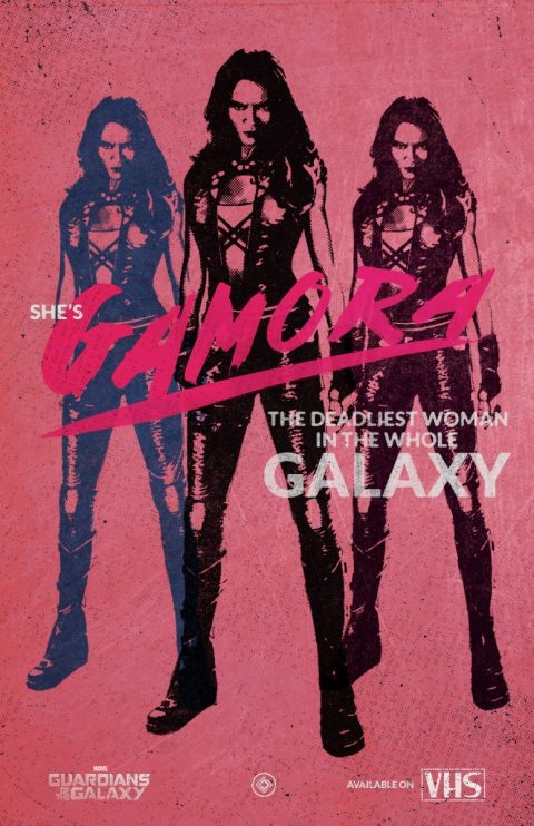 Guardians of The Galaxy VHS collection – Gamora