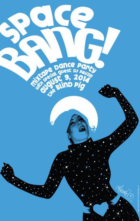 Space Bang! Poster
