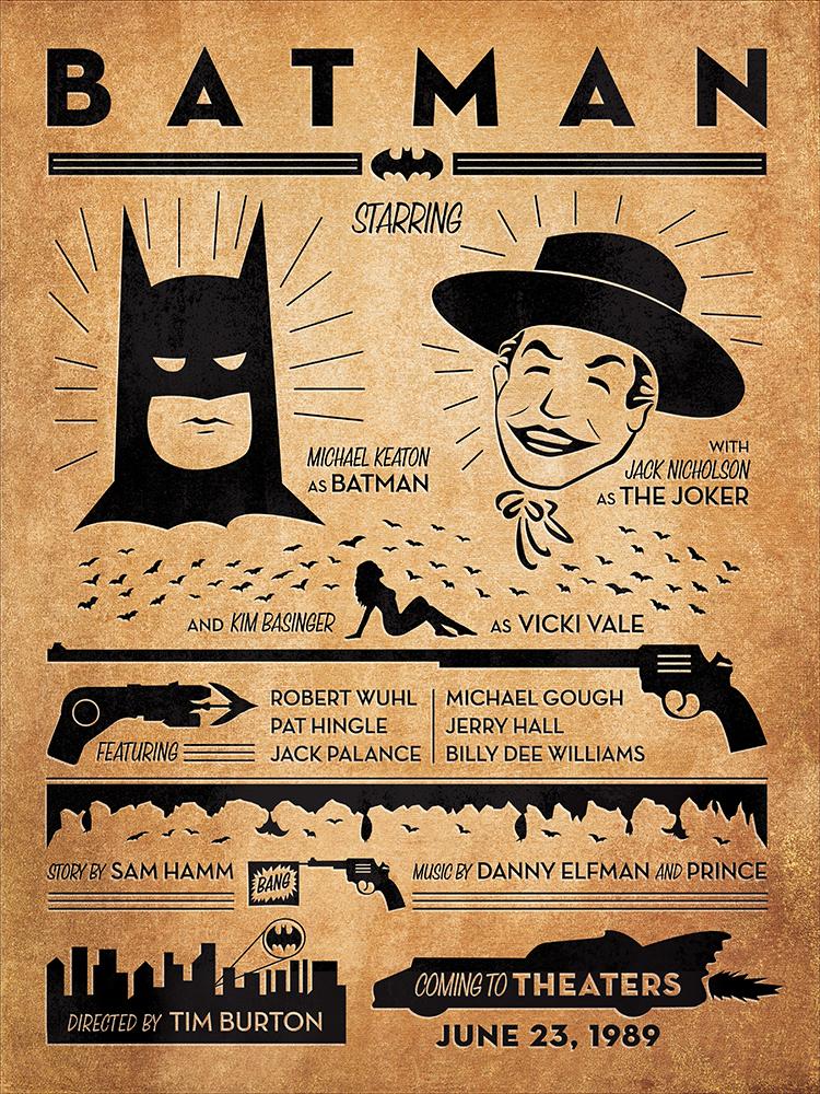 Batman 1989 u2013 PosterSpy