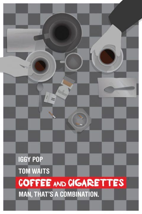Alternative 'Coffee & Cigarettes' Poster