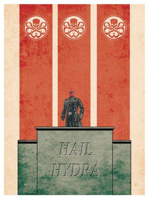 Hydra Propaganda Poster