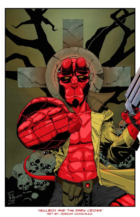 Hellboy and the Dark Cross