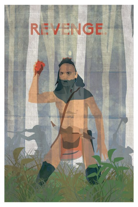 Alternative 'Last of the Mohicans' Poster