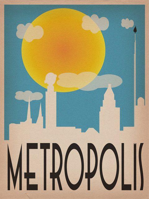 Metropolis City Poster