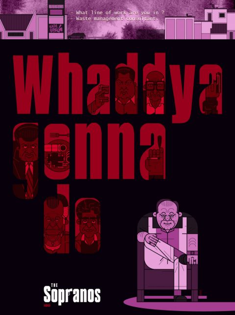 WHADDYA GONNA DO – Bada Bing