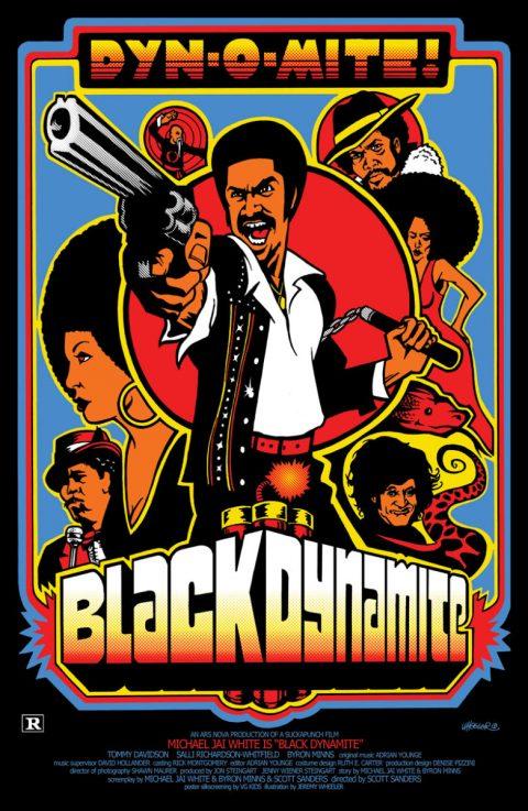 Black Dynamite Print