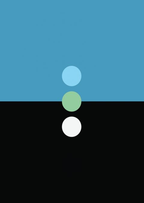 "Abstract Album Covers: John Coltrane ""Blue Train"""