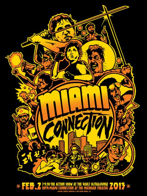 Miami Connection Print