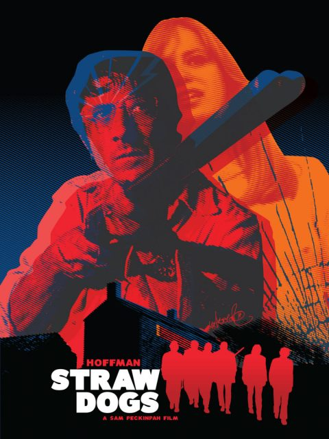 Straw Dogs Poster for Sllver Screen Society