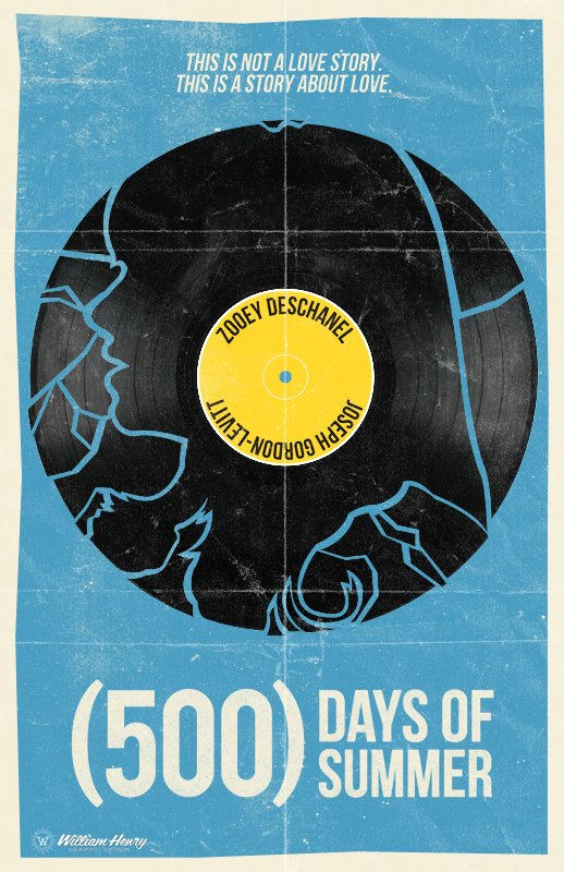 (500) Days Of Summer - PosterSpy