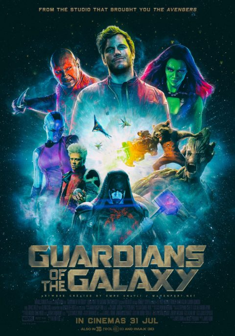 Guardians Of The Galaxy – Poster