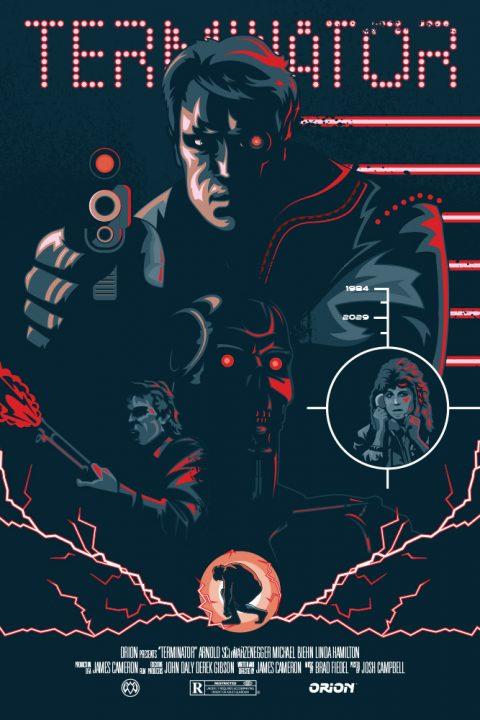 1984 Terminator Poster