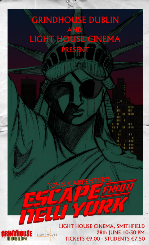 Grindhouse Dublin Presents Escape From New York