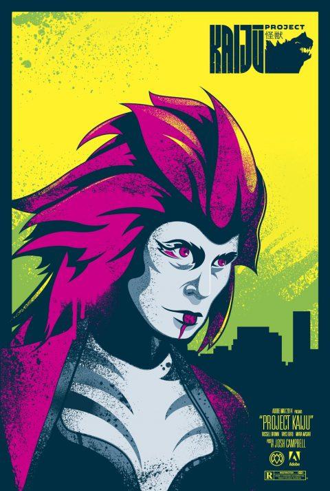 Adobe Max 2014 – Kaiju Posters