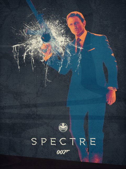 Spectre – 007 – Teaser Poster Art