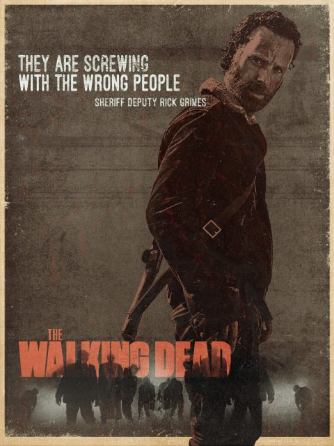 Deputy Sheriff Rick Grimes – The Walking Dead / Grindhouse Series